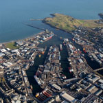 Location Aberdeen aerial